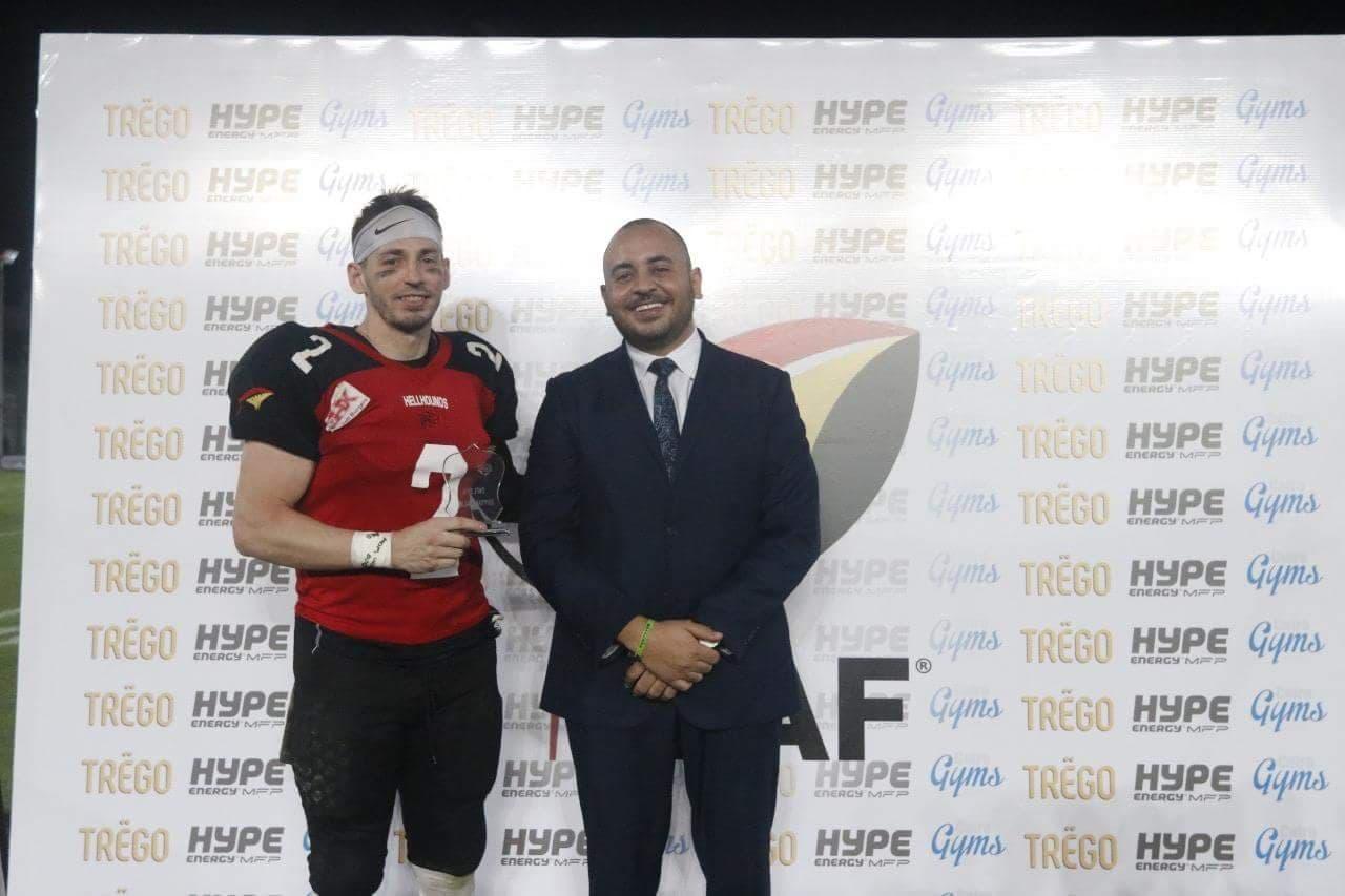 MVP Egyptian Bolw 2018, Matthew Kershey